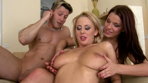 EuroSexParties - Mandi Dee and Mandy Dee along with Choky Ice