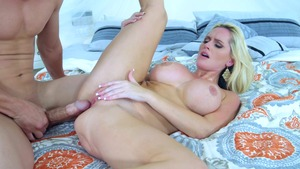 RealWifeStories.com: Alena Croft in thong masturbation HD