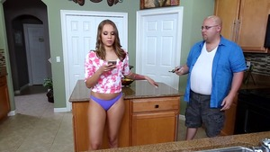 TeensLikeItBig.com: Brunette Liza Rowe handjob porn in HD