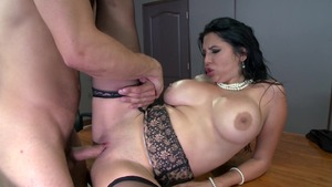 Big Tits at Work: Fetish cock sucking starring Missy Martinez