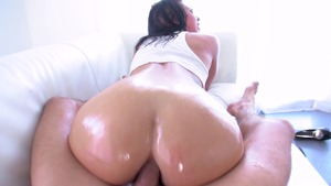 BigWetButts.com - Rachael Madori oil POV blowjob sex video