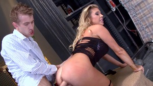Pornstars Like It Big: Police officer Samantha Saint cumshot