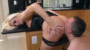 MILFs Like It Big: Alena Croft is really shaved pussy mature