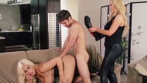 CFNM: Hard slamming alongside bald american MILF Nikki Benz