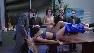 Big Tits at Work - Courtney Taylor ass to mouth