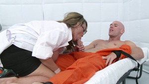 DoctorAdventures - POV handjob escorted by Holly Halston