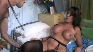 Big Tits in Uniform - British Ava Koxxx missionary sex