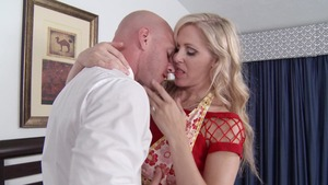 RealWifeStories - Julia Ann in thongs with Johnny Sins