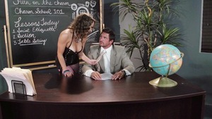 Big Tits at School: Fingering with Lily Love & Tommy Gunn