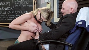 Big Tits at School - American Brianna Brooks fingering