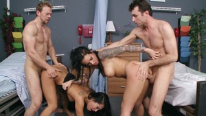 Doctor Adventures - Christy Mack escorted by Asa Akira