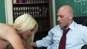 Big Tits at School - Alexis Ford in thongs 69 in the school HD