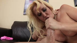 MommyGotBoobs: Alana Evans wearing high heels ass to mouth HD