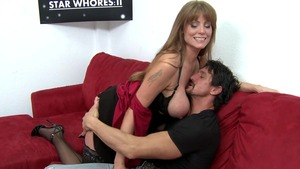 Mommy Got Boobs - MILF Darla Crane blowjobs