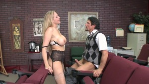 Big Tits at School - Julia Ann is tattooed teacher
