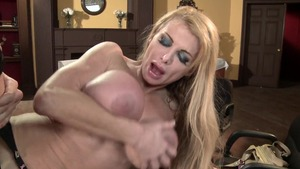 Mommy Got Boobs: Cleanest swallow with Taylor Wane