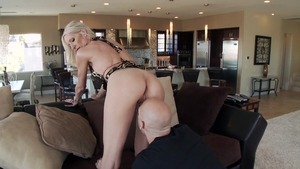 MILFsLikeItBig: American Emma Starr ass fucking at the party