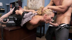 Big Tits at Work: Blake Rose starring Johnny Sins in office