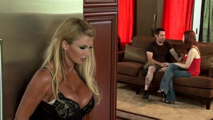 Mommy Got Boobs - Taylor Wane fantasy cumshot porno