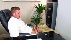 Big Tits at Work - Katy Jayne & Marc Rose tittyfuck