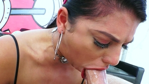 Swallowed.com - Messy rough sex together with Gina Valentina