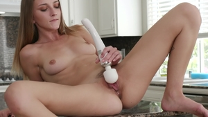 Nubiles - Busty Macy Meadows masturbation in panties