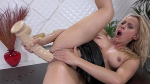 Wet and Pissy - MILF Brittany Bardot pussy fucking