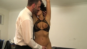 PascalsSubSluts.com: Female Red Rose goes in for bondage